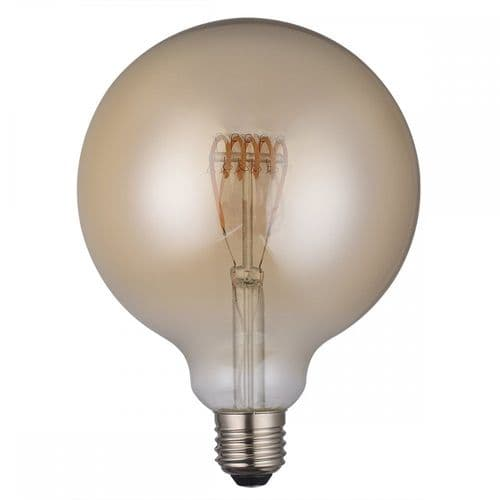 Dar Pack Of 5 E27 4w LED Dimmable Vintage Large Globe Lamp